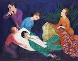 Nils Dardel: The Dying Dandy (1918)