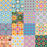 Repetitve Arabic Design Collage