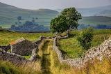 ^ Goat Scar Lane, Stainforth, Yorkshire Dales, England