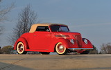 1937 Ford Deluxe Convertible Coupe