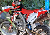 Honda 450 crf-x motorcyle SHOWA MONSTER ENERGY VIRELLI by auricl