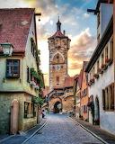 Germany, Rothenburg ob der Tauber