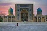 Sunset Abdulla Murodxo'jayev in Tashkent.