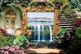 Garden flowers fantasy remix