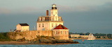 Rose Island Lighthouse Newport Rhode Island USA