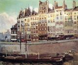 George  Sherwood Hunter, Ile de la Cité, 1900