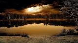 At The Lake Before Sunrise