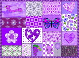 Purple Passions Collage