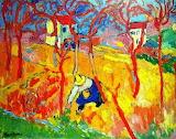 Colours-colorful-the gardener-by Maurice de Vlaminck