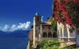 ☺ Hermitage of Santa Caterina del Sasso, Italy...