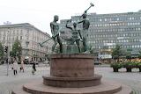 Helsinki, Three Smiths Statue, Finland