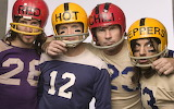 Men-male-Red-Hot-Chili-Peppers-helmet-numbers-letters-look