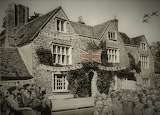 Wallingford Museum's Flint House as it might have been on VE Day