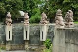 Kaliningrad, Statues in the zoo