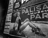 Palisades Billboard, ca 1935 © Berenice Abbott
