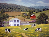 Cows in the Meadow~ JohnSloane