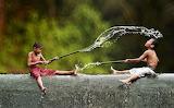 #Village Life in Indonesia by Herman Damar