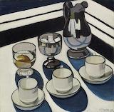 Margaret Preston,  Implement blue, 1927