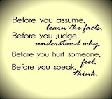 Before you assume..