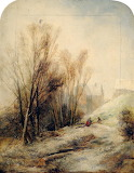 A Winter Landscape - English School