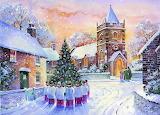 Christmas Art @ Pinterest...