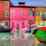 Colored houses-Burano-Italy