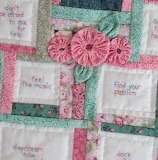 How to be happy quilt