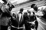B/W Bone Thugs Photo Krayzie, Wish, Bizzy, Layzie & Flesh-N-Bone