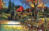 Country Roadside~ JimHansel ebay