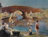 Fred Elwell, Brick Bridge, Swinemoor, ca. 1943