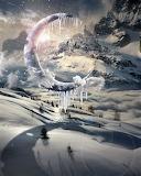 Frozen Moon Castle