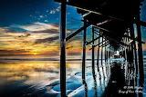 Sunrise pier Ocean Isle Beach