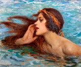 Water Sprite or Siren~ W.H.Margetson
