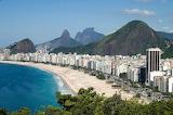 Leme and Copacabana beaches - Rio de Janeiro