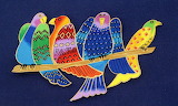 ^ Tropical Birds ~ Laurel Burch
