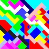 colors abstract geometric