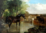 The Brood Mare by John Frederick Herring Senior