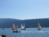 Régates sur le lac d' Annecy