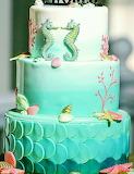 Seahorse wedding cake @ Weddingomania