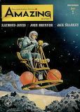 Amazing Stories November 1964, Cover by Alex Schomburg