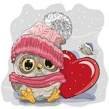 owl+heart