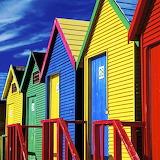 Colorful Cabanas...
