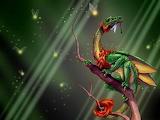 Fantasy dragon