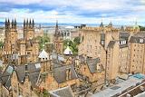 Rooftops Edinburgh Scotland