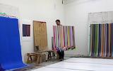Ian Davenport's studio in Peckham, London