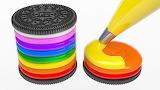 Colors rainbow cookies