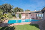 Luxury pink villa, Cote d'Azur, France