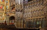 Otoczenie ołtarza głównego w katedrze w Toledo