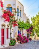 Greece, Tinos Island, Pyrgos