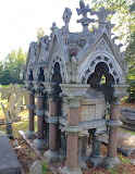 tomb of Charles Spencer Ricketts, Kensal Green Cemetery, London